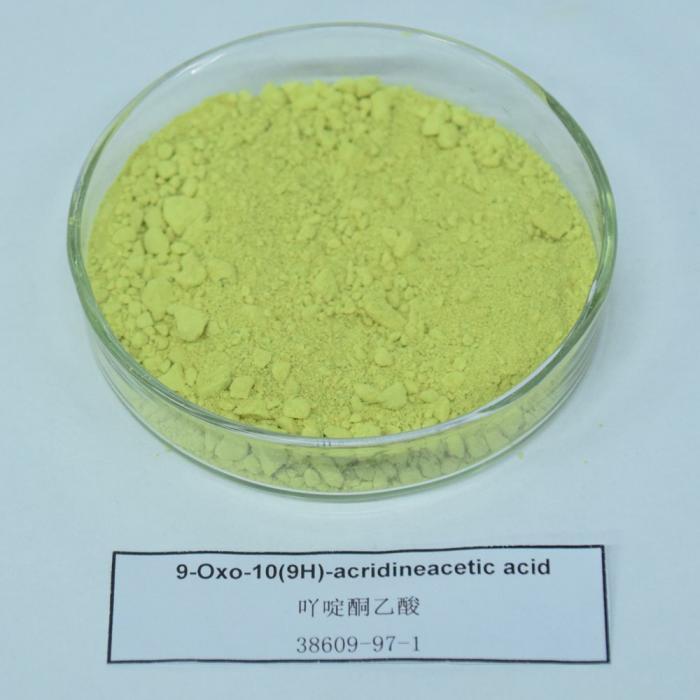 9-Oxo-10(9H)-acridineacetic acid