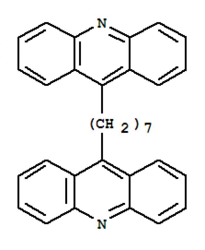 1,7-Bis(9-acridinyl)heptane